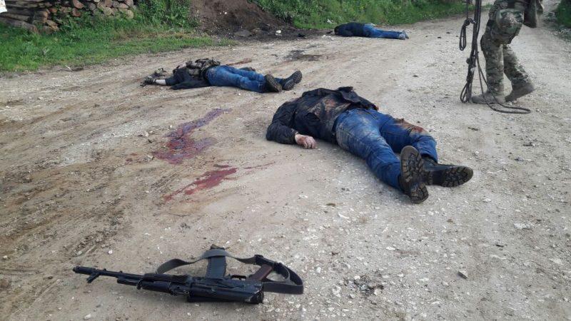 Лидер Кадарской бандгруппы и трое его боевиков убиты в Дагестане
