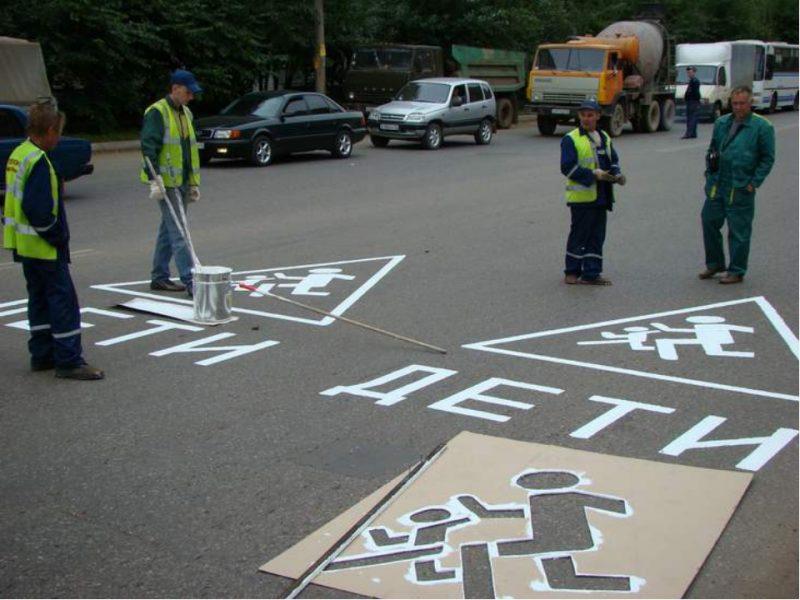 Дорожные знаки появятся на покрытии более чем 20 дорог республики