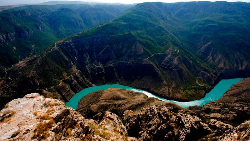 В Сулакском каньоне будут выращивать лососевых и осетровых рыб