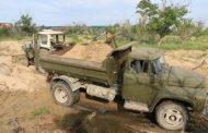 В Махачкале пресекли незаконную добычу песка