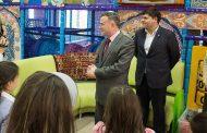 В Дагестане устроили праздник для детей погибших полицейских