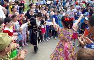 Росгвардия провела детский праздник с участием 1500 человек в Дагестане