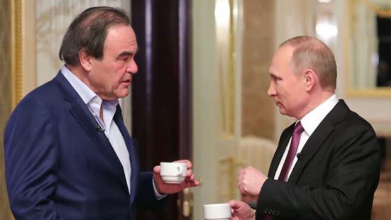 Путин рассказал о храбрых дагестанцах Оливеру Стоуну