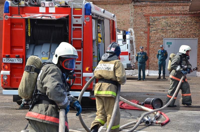 Пожар произошел в одном из кафе в Кизляре, пострадавших нет