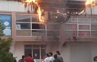 Пожар вспыхнул на одном из рынков Дербента
