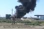 Два человека пострадали при пожаре на АЗС в Тарумовском районе