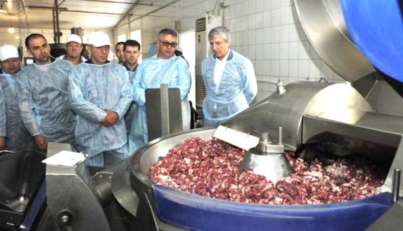 ООО «Урицкий мясокомбинат» запустили два новых цеха