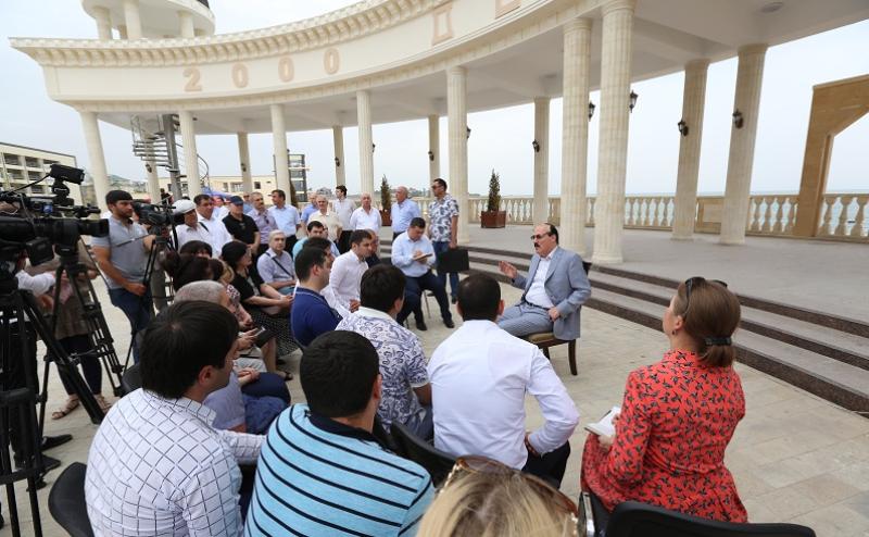Дагестанские журналисты встретились с Рамазаном Абдулатиповым