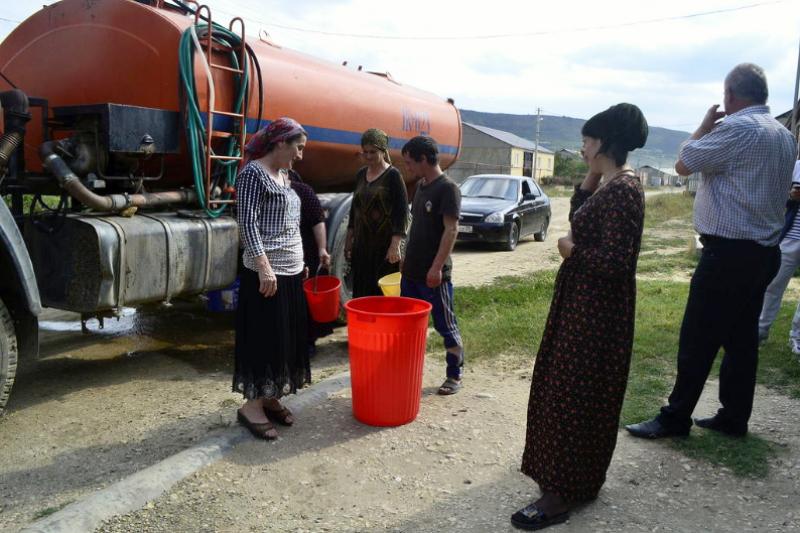 Организован подвоз воды для жителей Буйнакского района