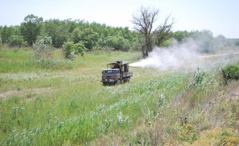 В Дагестане против саранчи обработано свыше 92 тысяч гектаров