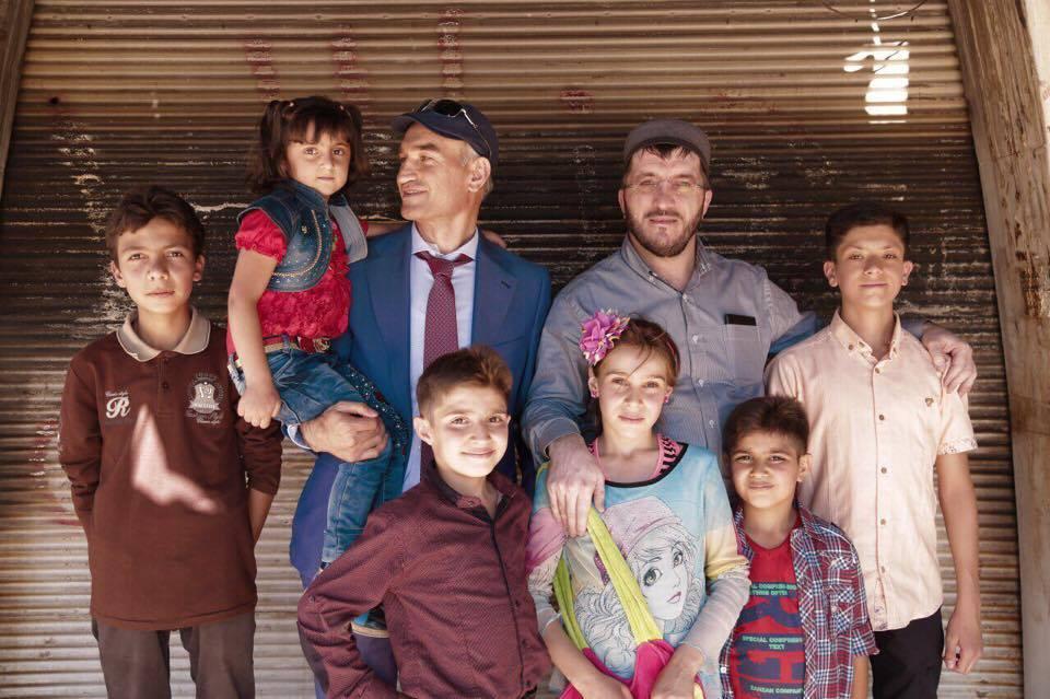 Дагестан пришел на помощь Сирии