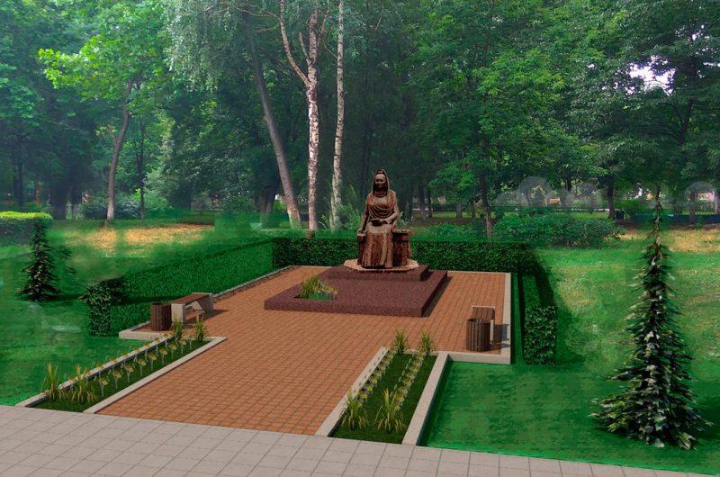 «Последние штрихи». Памятник Фазу Алиевой готовится к открытию
