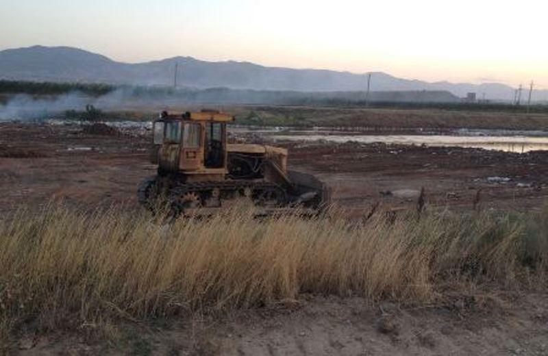 В пригороде Махачкалы идет ликвидация стихийных свалок