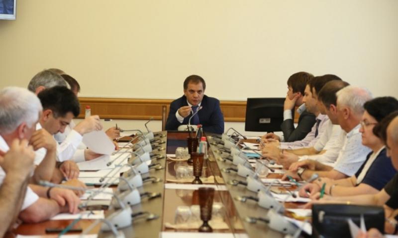 В Махачкале обсудили итоги реализации проекта «Обеление» экономики»