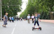 Патруль из молодых людей охраняет улицы Махачкалы