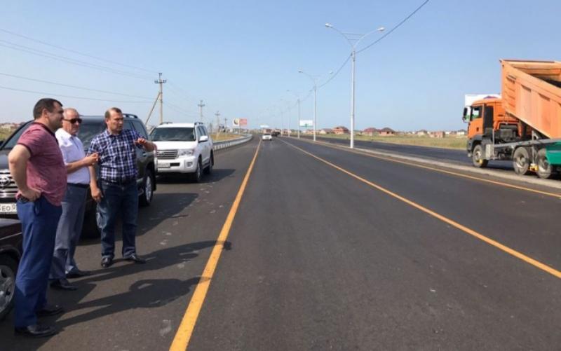 Махачкалинские улицы проинспектировал Рамазан Алиев