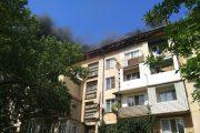 Пожар в жилом доме в Махачкале ликвидирован