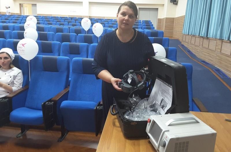 Перинатальный центр «Мама Патимат» получил в подарок аппарат стоимостью 700 тысяч рублей
