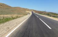 Продолжается ремонт участка автомобильной дороги Мамедкала – Хучни