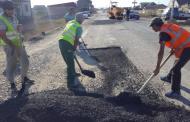 В Дагестане ремонтируют участок дороги, соединяющий федеральные трассы «Кавказ» и «Астрахань–Махачкала»