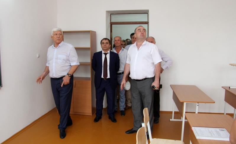 В Буйнакском районе откроются школа и детски сад