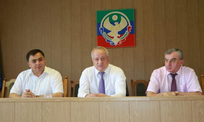 В Магарамкентском районе обсудили реализацию приоритетных проектов Дагестана