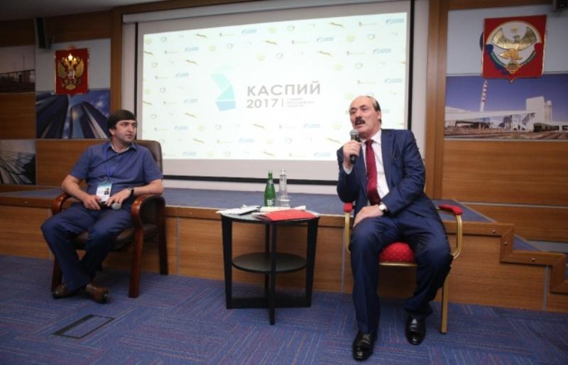 Рамазан Абдулатипов встретился с участниками молодого форума «Каспий–2017»