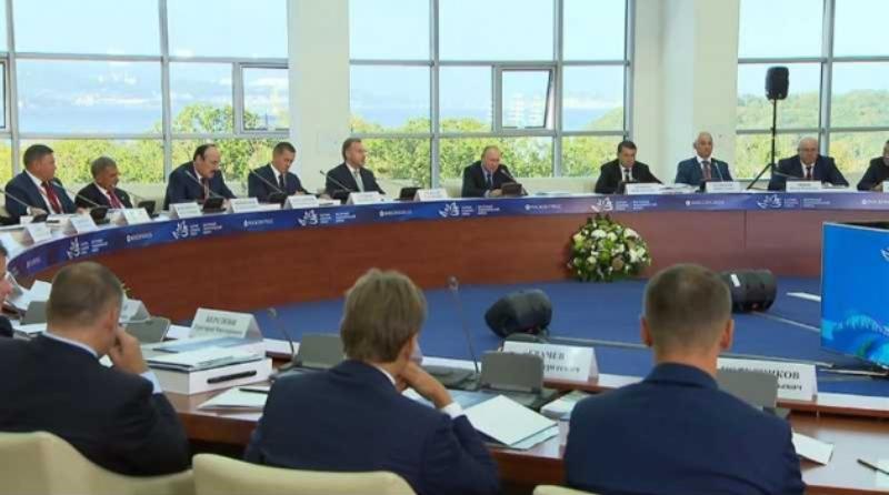 Рамазан Абдулатипов принял участие в заседании президиума Госсовета по вопросам развития ДФО
