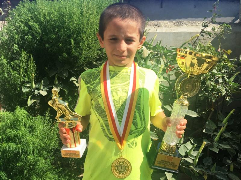 Юный дагестанец выиграл международный борцовский турнир