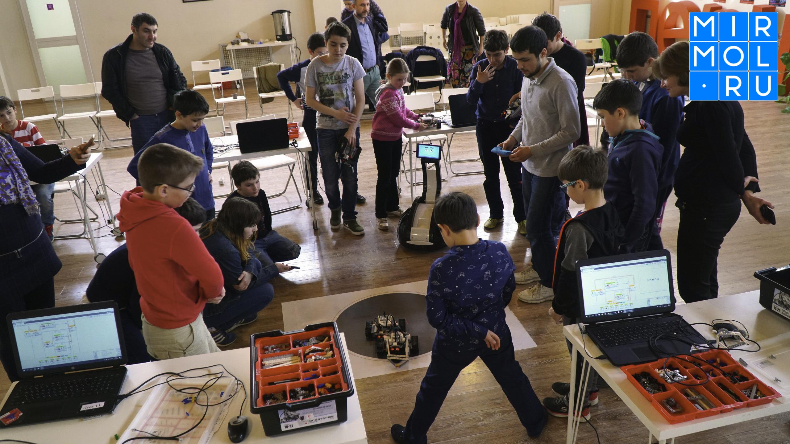 Юные дагестанцы примут участие в проекте «Передвижная роболаборатория»