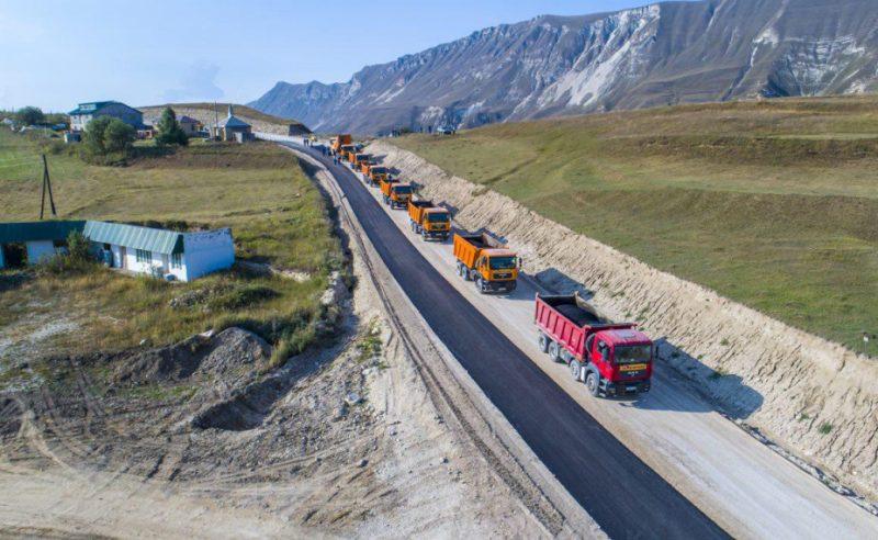 В Дагестане идет строительство дороги к туристическому комплексу «Матлас»