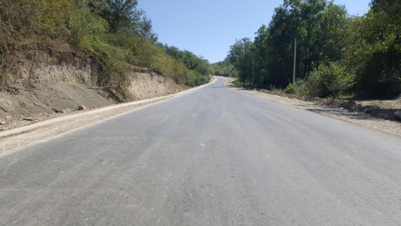 В Сергокалинском районе досрочно завершен ремонт участка дороги Бурдеки-Мургук
