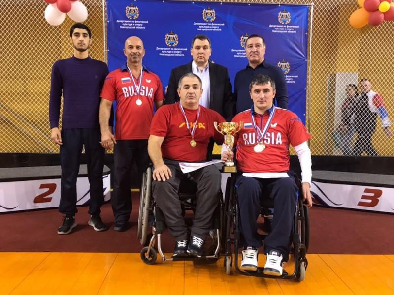 Сборная Дагестана по настольному теннису стала лучшей на Всероссийских соревнованиях в Новгороде