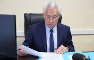 Владимир Васильев провел первый прием граждан в качестве руководителя Дагестана