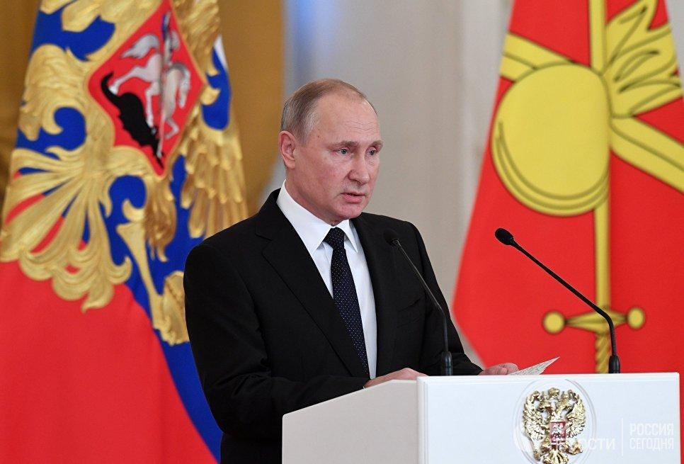 Военный из Дагестана получил государственную награду