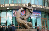 В Махачкале состоялось открытие памятника легендарному борцу Али Алиеву