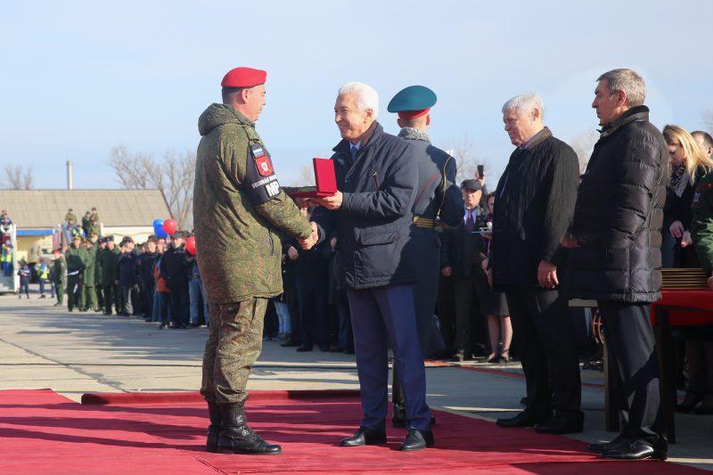 В Дагестан прибыл батальон военной полиции из Сирии