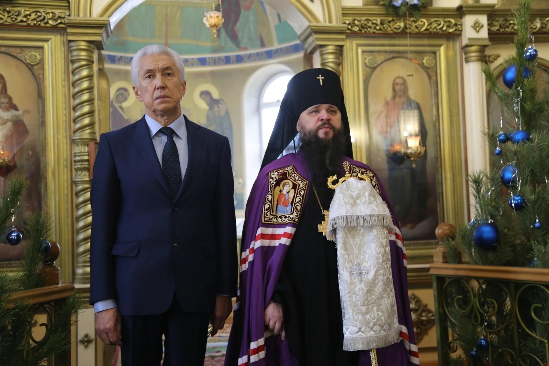 Владимир Васильев поздравил христиан Дагестана с Рождеством Христовым