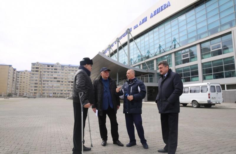 Анатолий Карибов проверил готовность объектов к чемпионату Европы по борьбе