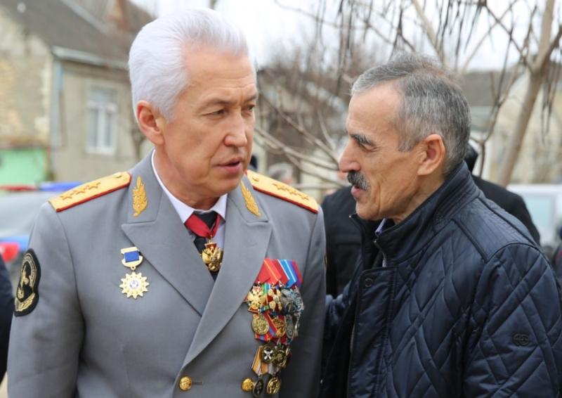 Владимир Васильев посетил семью Героя России Магомеда Нурбагандова