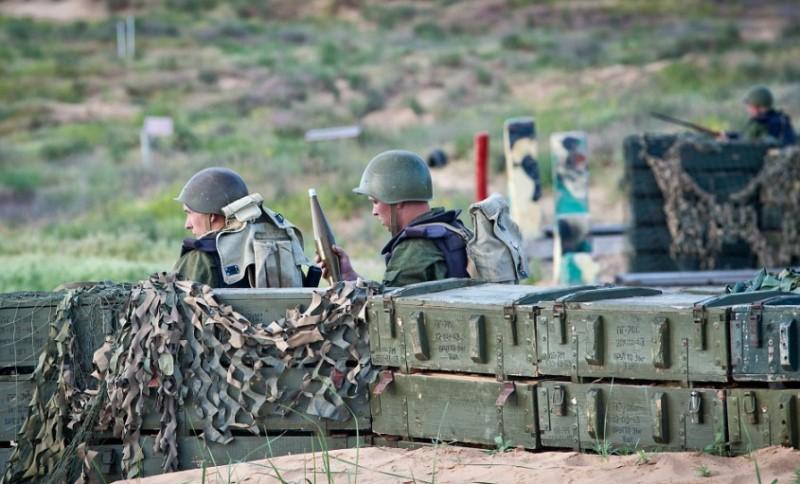 Учения морских пехотинцев проходят в Дагестане