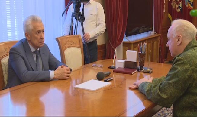 Александр Бастрыкин встретился в Махачкале с Владимиром Васильевым