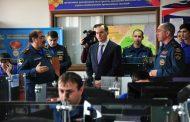 Артем Здунов посетил республиканское МЧС