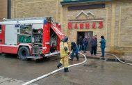 Пожар произошел в одном из ресторанов Махачкалы