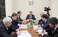 Артем Здунов встретился с коллективом министерства юстиции Дагестана