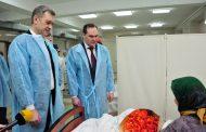 Артем Здунов поздравил пациенток госпиталя ветеранов с праздником 8 Марта