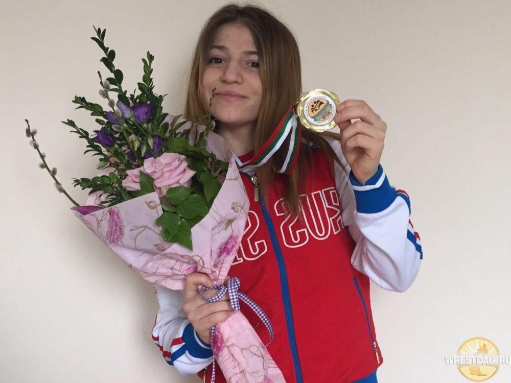 Милана Дадашева выбыла из борьбы за медали молодежного чемпионата Европы