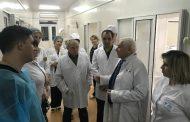 Главный реаниматолог СКФО проверил городскую больницу Хасавюрта