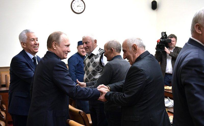 Владимир Путин уверен, что дагестанцы поддержат борьбу с коррупцией