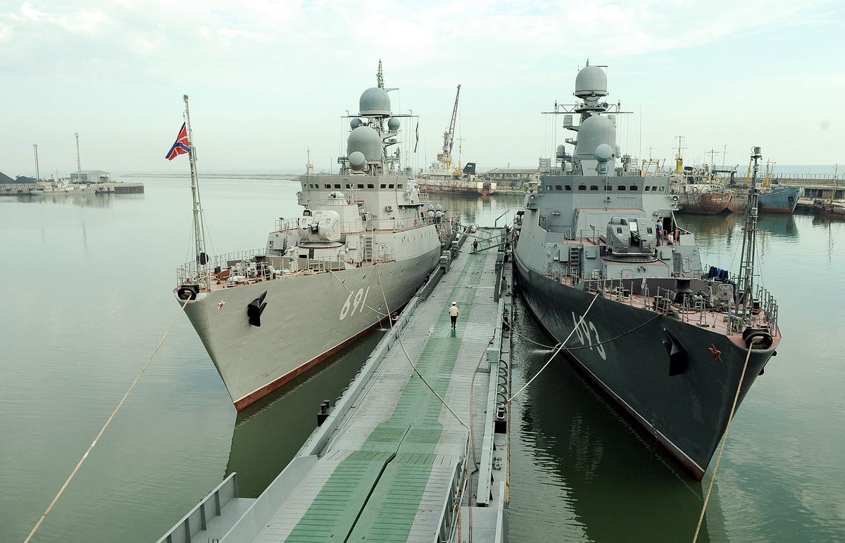 Каспийская флотилия будет перебазирована в Дагестан